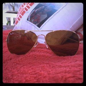 Ray-Ban sunglasses Gold Aviator Classic